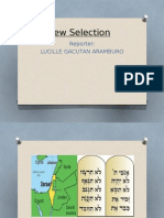 Hebrew Selection - World Literature