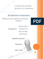 Elementos Primarios (Punto, Linea...