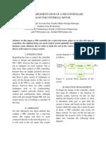 Closedloop PID control of Universal Motor