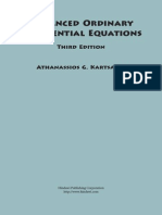 Advanced Ordinary Differential Equations - Athanassios