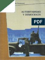 Autoritarismo y Democracia - Marcelo Cavarozzi