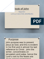 The Book of John, 1 & 2 CORINTHIANS