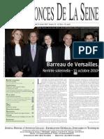 Edition du 21 octobre 2010