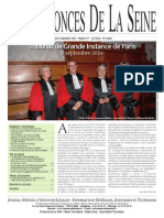 Edition du Jeudi 11 Septembre 2014