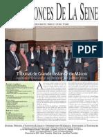 Edition du Jeudi 13 Mars 2014