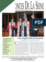 Edition du Jeudi 16 Octobre 2014