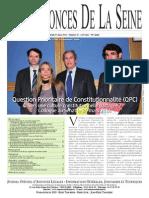 Edition du Jeudi 27 Mars 2014