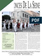 Edition du Lundi 8 novembre 2010
