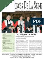 Edition du jeudi 13 decembre 2012