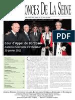 Edition du jeudi 15 mars 2012