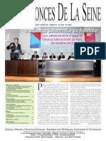 Edition du jeudi 17 octobre 2013