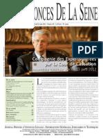 Edition du jeudi 21 juin 2012