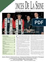 Edition du jeudi 24 janvier 2013