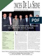 Edition du jeudi 24 mai 2012