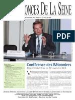 Edition du jeudi 28 novembre 2013