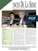 Edition du jeudi 3 fevrier 2011