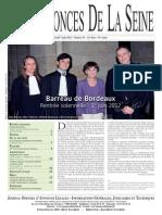 Edition du jeudi 7 juin 2012
