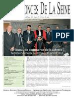 Edition du jeudi 7 mars 2013