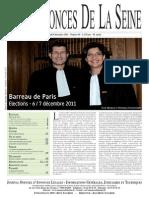 Edition du jeudi 8 decembre 2011