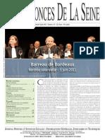 Edition du jeudi 9 juin 2011