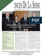 Edition du lundi 21 mars 2011