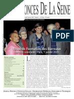 Edition du lundi 7 janvier 2013