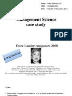 Management Science Case