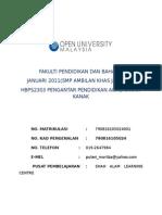 ASGMNT HBPS2303 PENGANTAR BAHASA KANAK-KANAK.docx