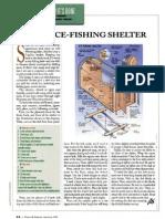Portable Folding Ice Fishing Shanty 2 Man