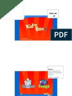 Tutorial Del Libro Kid's Box 1 Preprimary