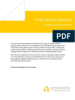 GroupExercise Instructions