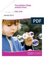 Eyfs Planning Examples Pack