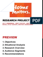home matters presentation