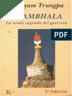 Shambhala Senda Sagrada Del Guerrero Chogyam Trungpa