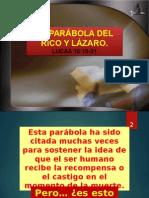 LA PARÁBOLA DEL RICO Y LÁZARO