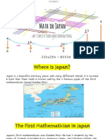 math in japan by- christy and sorina
