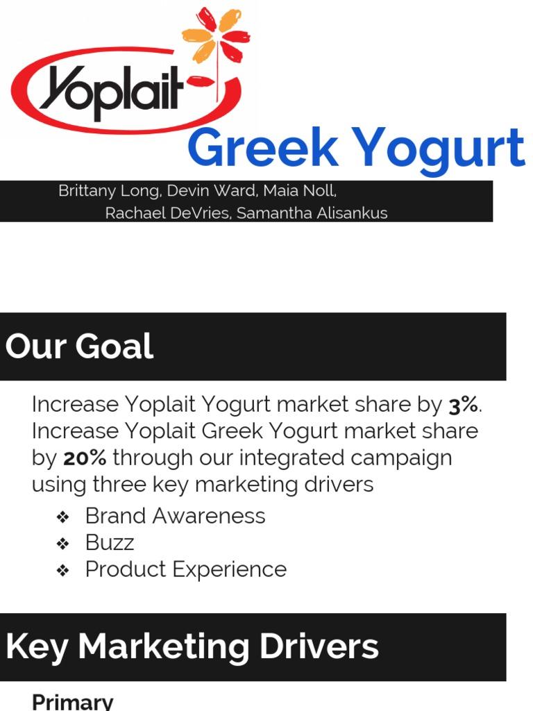 yoplait greek | Brand | Promotion (Marketing)
