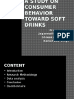 A Study on Consumer Behavior Toward Soft Drinks