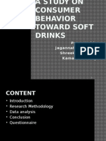 customer buying behaviour towards soft drinks Consumer behavior involves the psychological processes that consumers go through in recognizing needs,  for example, a parent may reject all soft drinks that contain artificial sweeteners  organizational buying usually involves more people than individual buying.