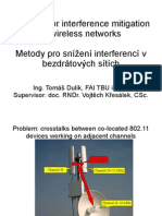 Methods for interference mitigation in wireless networks - thesis defense slides