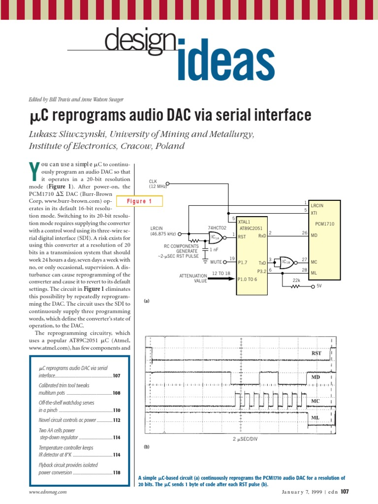 Edn Design Ideas 1999 Amplifier Computer Engineering Circuit 2n3904 Oscillatorcircuit Signalprocessing