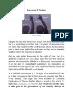 Democracy & Elections