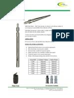 Wireline Sand Pump Bailer