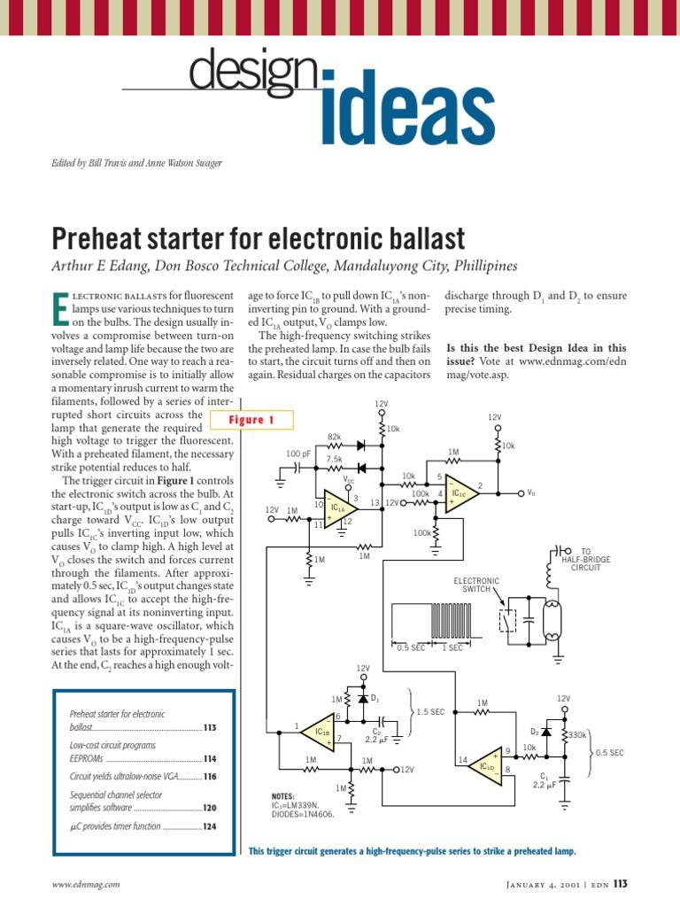 Edn Design Ideas 2001 Amplifier Analog To Digital Converter 25w Classa Power Audio Circuit Diagram Supreem Circuits