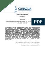 Acueducto El Zapotillo Apéndice 1- Definiciones