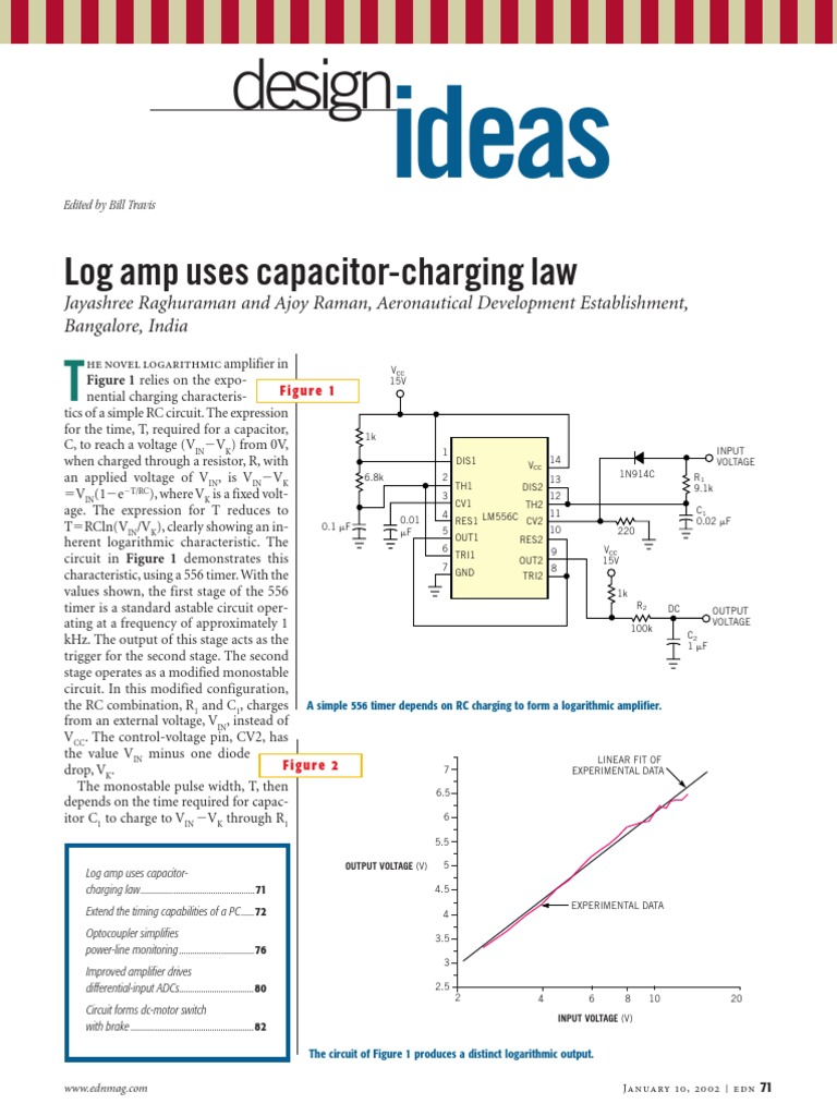 Edn Design Ideas 2002 Analog To Digital Converter Amplifier Npn 8211 Pnp Transistor Tester Circuit Using 3906