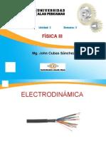 FISICA 3 SEM 3 - Electrodinámica