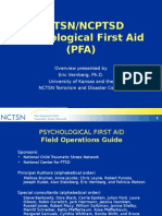 psychological first aid - eric vernberg