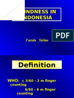 Blindness in Indonesia