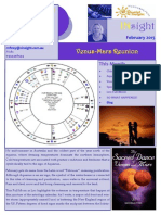 How the Re-union of Venus and Mars Affects the Whole Month?